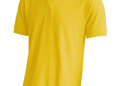 polo amarillo oro