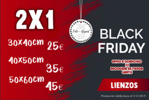 BLACK FRIDAY, LIENZOS